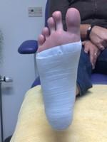 tape voet